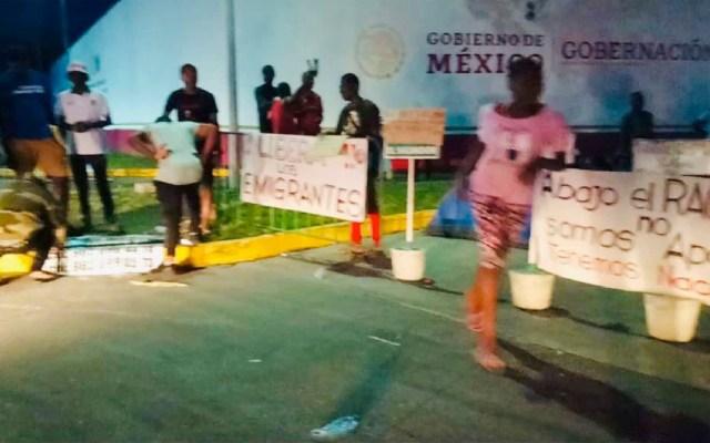 Denuncian redadas y maltrato a migrantes en albergue de Chiapas - migrantes tapachula chiapas