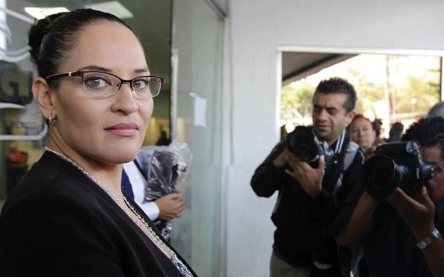 Norelia Hernández se deslinda de declaraciones de padre de Norberto Ronquillo - Norelia Hernández. Foto de Notimex.