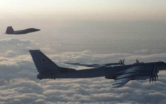 Aviones de combate interceptan a bombarderos rusos cerca de Alaska - NORAD aviones interceptan bombardero ruso