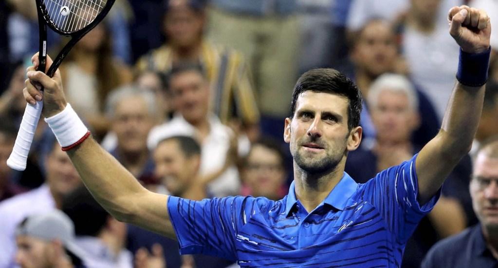 Novak Djokovic revela llevar dos semanas con lesión en el hombro - Novak Djokovic