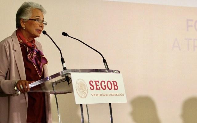 Sánchez Cordero reitera que está firme en el cargo porque tiene la confianza del presidente AMLO - Olga Sánchez Cordero Segob Secretaría de Gobernación 2