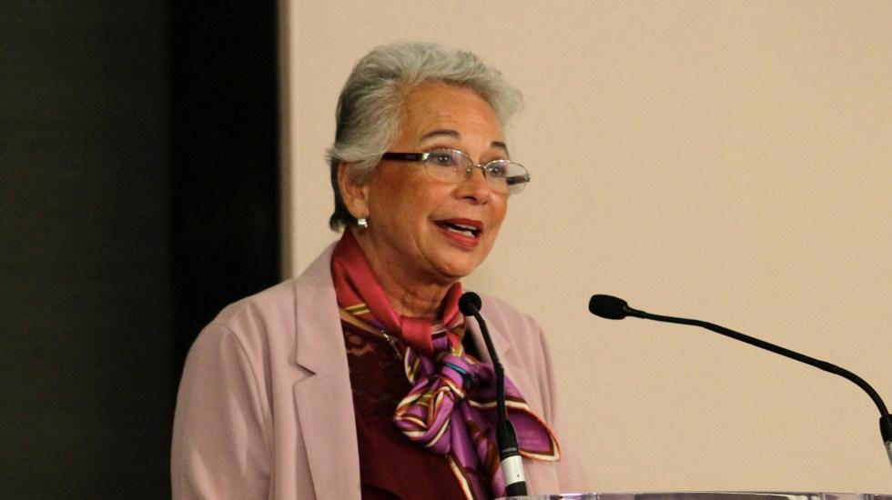 Diversos grupos armados buscan caminar hacia la pacificación: Sánchez Cordero - Olga Sánchez Cordero Segob Secretaría de Gobernación