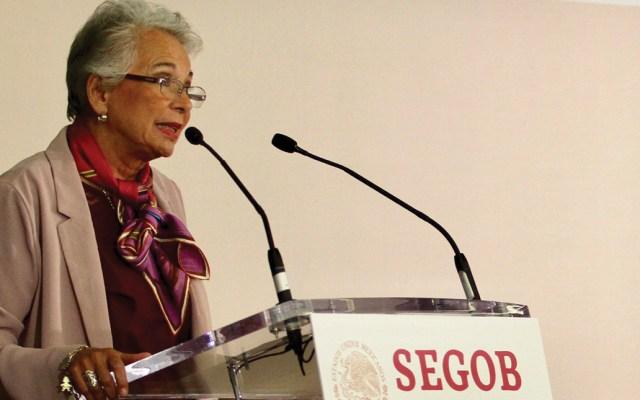 Exhorto de AMLO a partidos políticos para devolver recursos es solo sugerencia: Sánchez Cordero - Foto de Notimex