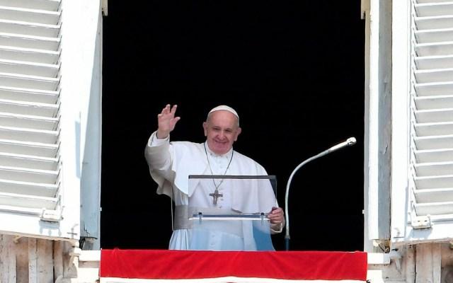 Guerras y terrorismo son pérdidas graves para la humanidad: papa - Papa Francisco durante el rezo del Ángelus. Foto de Vatican News