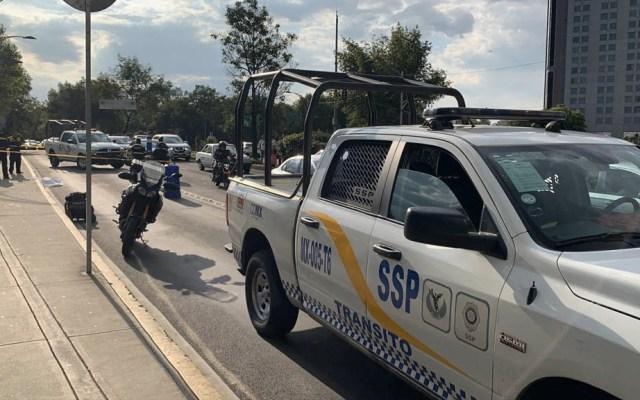 Patrulla atropella y mata a mujer en Paseo de la Reforma - Paseo de la Reforma mujer atropellada SSC