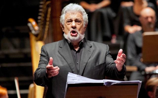 Ópera de San Francisco también cancelará concierto de Plácido Domingo - Plácido Domingo