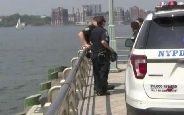 Mujer se lanza al río Hudson luego de que su novio terminara la relación - río hudson