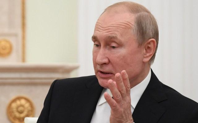 Putin llama a EE.UU. a garantizar seguridad tras abandono de INF - Presidente Vladimir Putin. Foto de EFE