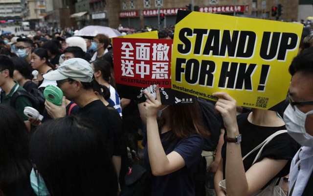 Protestas en Hong Kong por undécimo fin de semana consecutivo - protestas hong kong