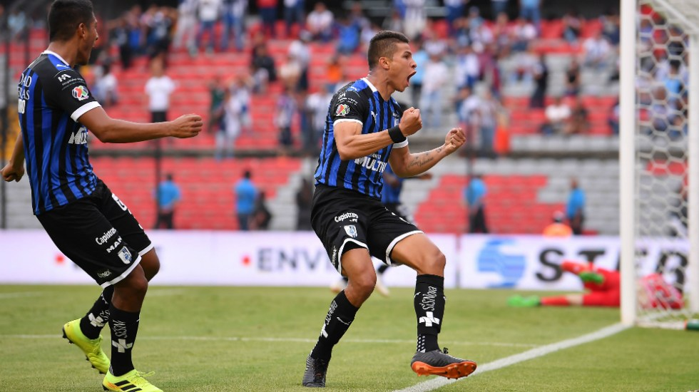 Querétaro remonta a Pachuca y asalta liderato del Apertura 2019 - Foto de Mexsport