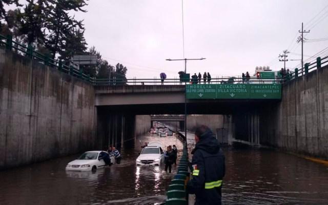 Continúan trabajos por desborde de Río Hondo en Naucalpan - río hondo naucalpan caem