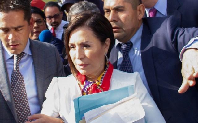 Hija de Rosario Robles asevera que inicio de juicio político contra su madre es una venganza - Robles Berlanga Rosario. Foto de EFE