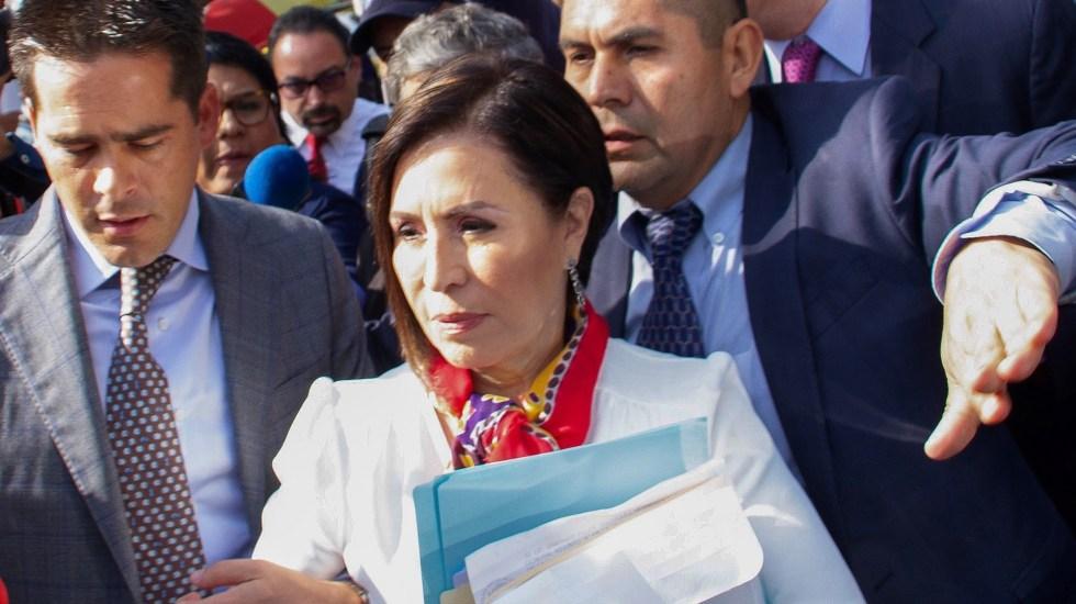 Secretaría de Hacienda prepara denuncia contra Rosario Robles - Robles Berlanga Rosario. Foto de EFE
