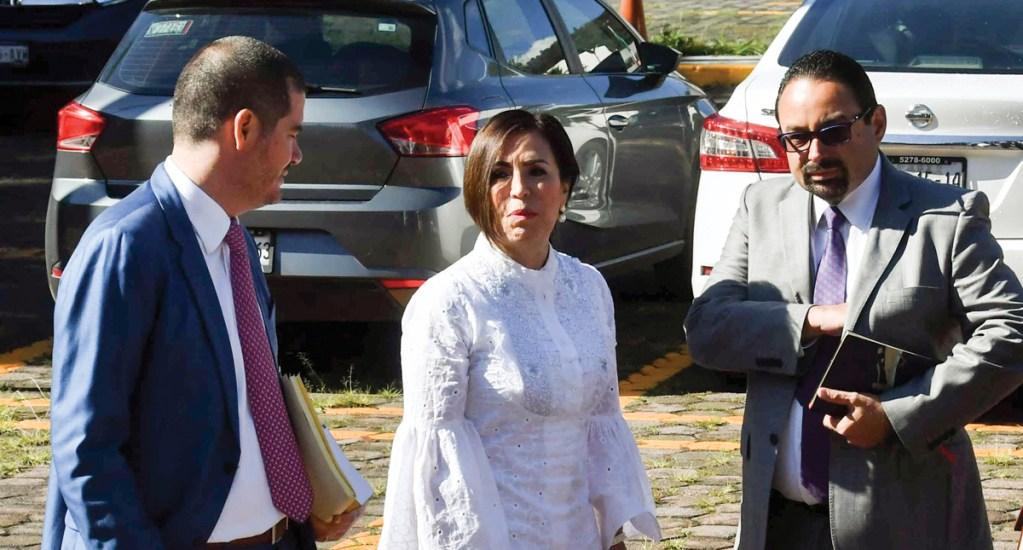 FGR insistirá en que Robles enfrente proceso en prisión: Gertz Manero - Rosario Robles