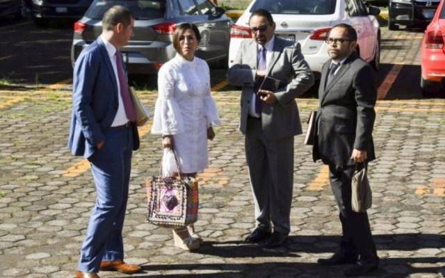 Rosario Robles interpone queja ante CNDH; acusa violación al debido proceso - rosario robles