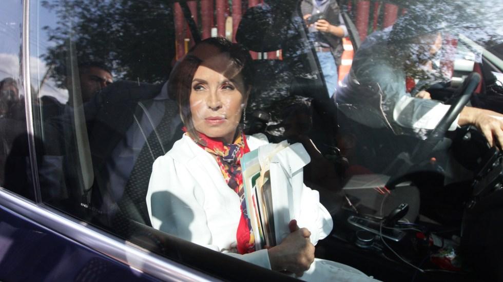 Auditoría Superior presenta, en segunda audiencia, pruebas contra Rosario Robles por Estafa Maestra - Rosario Robles. Foto de Notimex- Guillermo Granados.