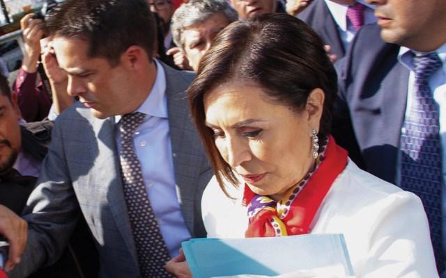 Notifican a Rosario Robles inicio de juicio político en su contra - Foto de EFE