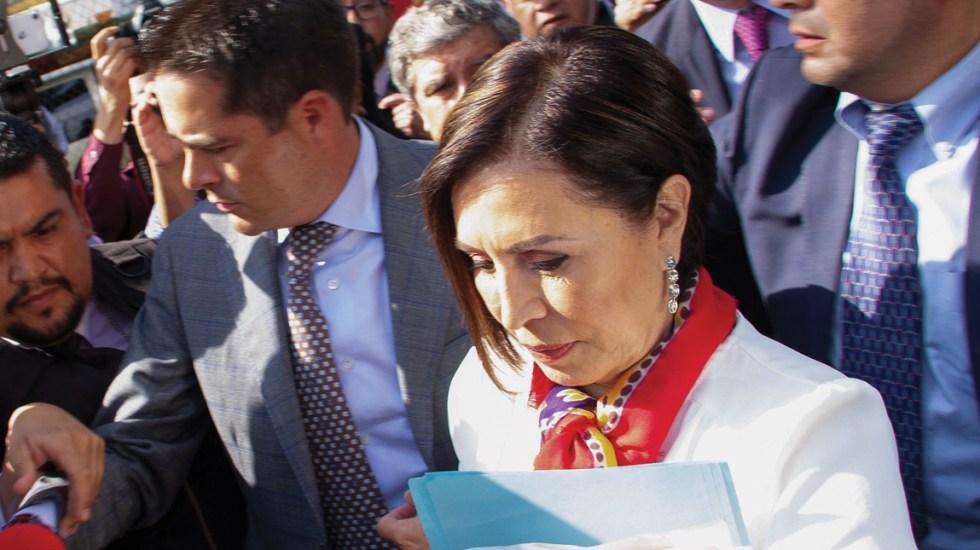 Rosario Robles pide a su defensa actuar conforme a derecho - Foto de EFE
