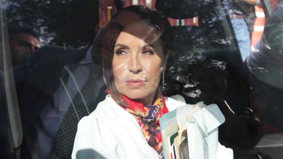Rosario Robles impugna prohibición de acceso a sus cuentas - rosario robles