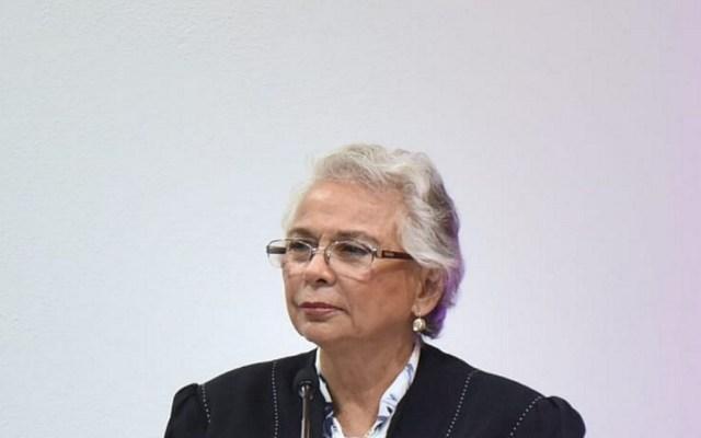Sánchez Cordero niega que inseguridad rebase al Estado - Olga Sánchez Cordero. Foto de Notimex