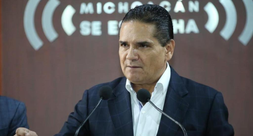 """Desafuero contra García Cabeza de Vaca es """"quizás el acto más autoritario que haya conocido México"""": Aureoles - Silvano Aureoles en conferencia de prensa. Foto de @Silvano_A"""