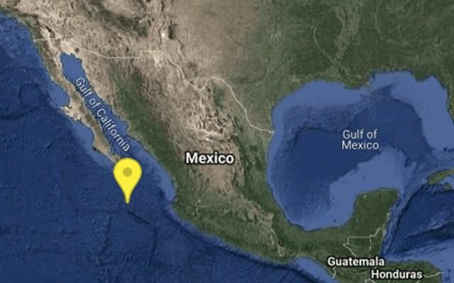 Se registra sismo de magnitud 5.8 al sur de Cabo San Lucas - Foto de SSN