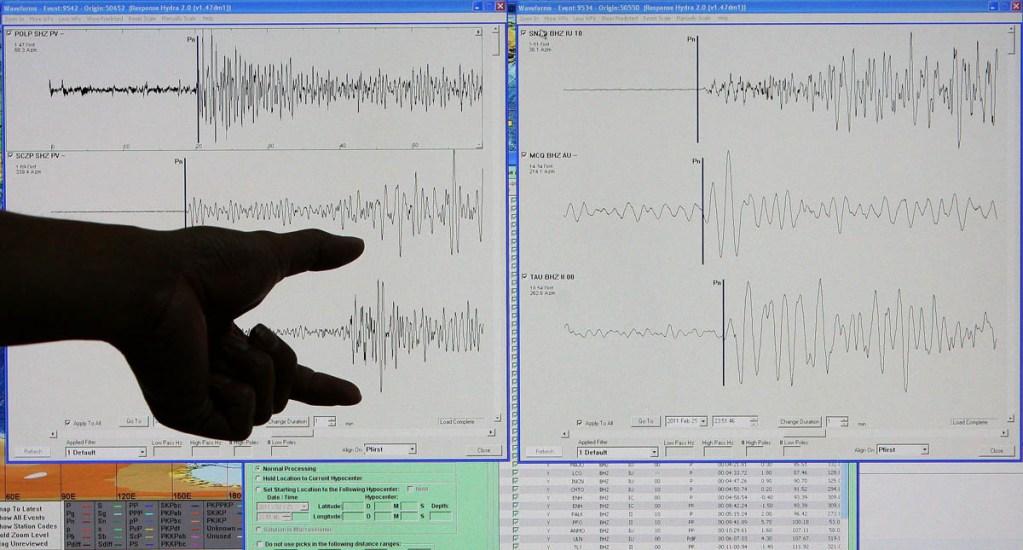 Sismo magnitud 5.1 sacude Chiapas - Sismo temblor sismógrafo