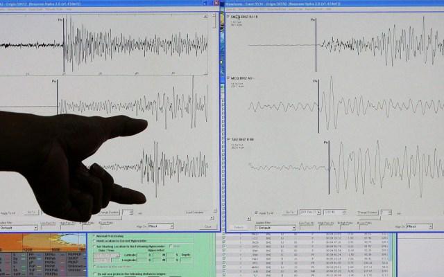 Se percibe sismo ligero en la Ciudad de México - Sismo temblor sismógrafo