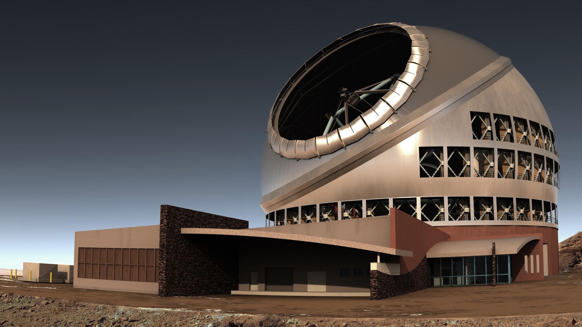 Telescopio de Treinta Metros. Foto de tmt.org