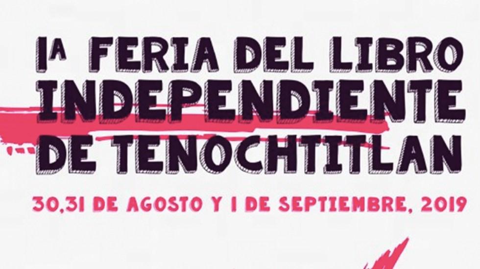 Realizan Feria del Libro Independiente - Foto de Facebook Feria del Libro Independiente de Tenochtitlán