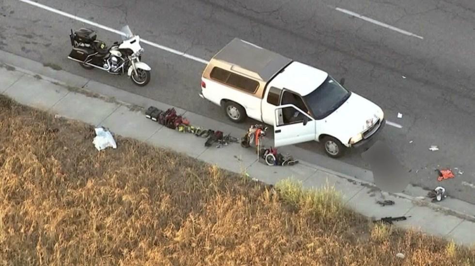 Investigan tiroteo en el que murió policía en California - Tiroteo California policía multa
