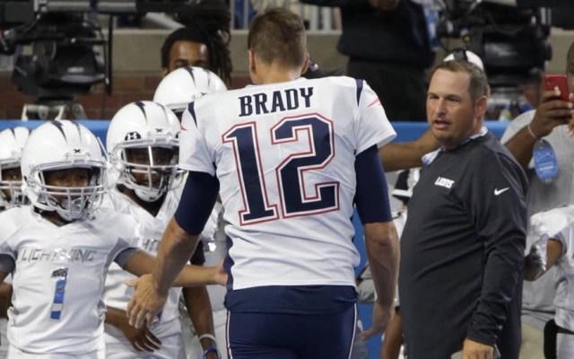 Patriots arrancan la pretemporada con aplastante triunfo sobre Detroit - Tom Brady Patriots pretemporada