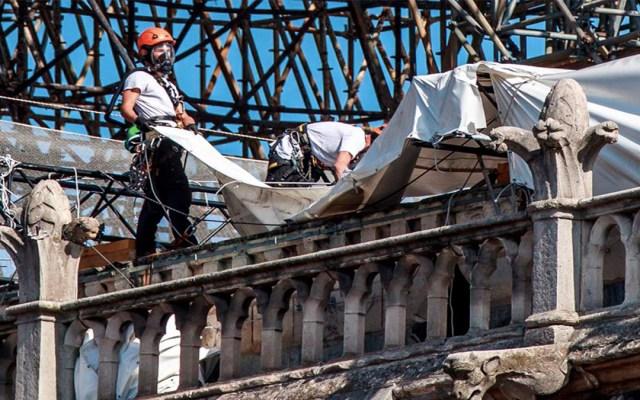 Reanudan restauración de Notre-Dame con nuevas medidas de seguridad - trabajos de restauración Notre-Dame