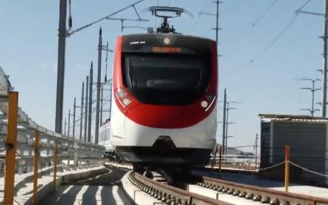 SCT reporta irregularidades en construcción del Tren México-Toluca - Tren Interurbano México-Toluca. Foto de SCT