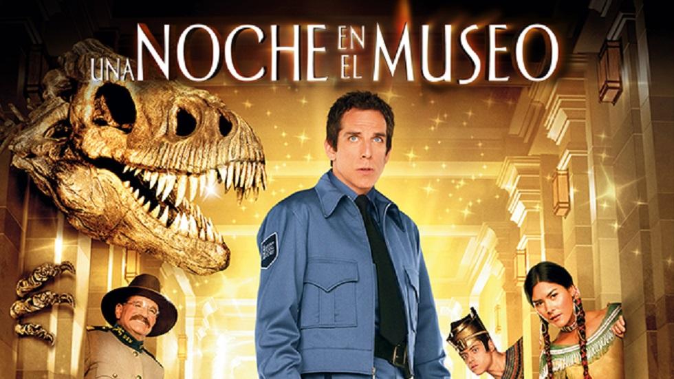 Póster de Una noche en el museo. Foto de 21st Century Fox