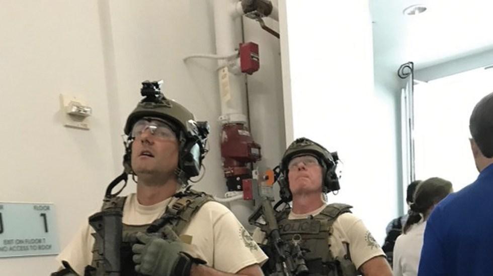 Evacuan edificio de USA Today en Virginia - Foto de USA Today