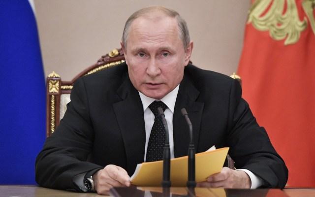 Putin acusa a EE.UU. de planear despliegue de misiles cerca de Rusia - Vladimir Putin. Foto de EFE