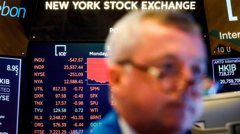 Wall Street amplía pérdidas ante guerra comercial entre EE.UU. y China - wall street
