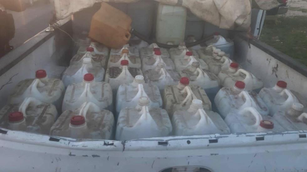 Recuperan mil litros de diésel en Zacatecas; hay dos detenidos - Foto de Express Zacatecas