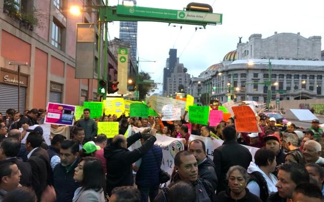 Prevén dos movilizaciones en la alcaldía Cuauhtémoc - movilizaciones
