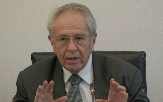 Jorge Alcocer expone fracasos de cobertura universal de salud - Secretario de Salud, Jorge Alcocer