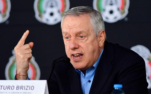 """""""Dudo que haya un mejor VAR que el mexicano"""": Arturo Brizio - arturo brizio var méxico"""