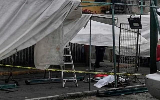 Asesinan a comerciante en Tianguis del Salado, en Iztapalapa - asesinan a comerciante en tianguis del salado, en iztapalapa