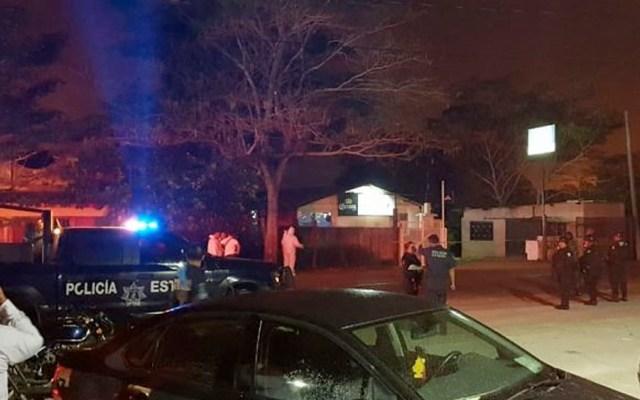 Fiscalía investiga ataque en bar de Tabasco - Fiscalía investiga ataque en bar de Tabasco