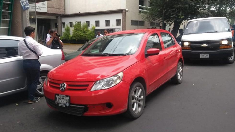 Localizan auto utilizado en el robo a la Casa de Moneda de Reforma
