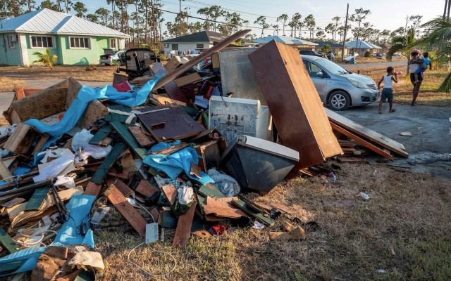 ONU vincula desastre en Bahamas con crisis climática - Bahamas Dorian desastre natural