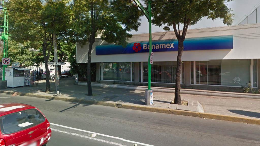 Roban banco en la Obrera con nota intimidatoria - Banamex banco Obrera