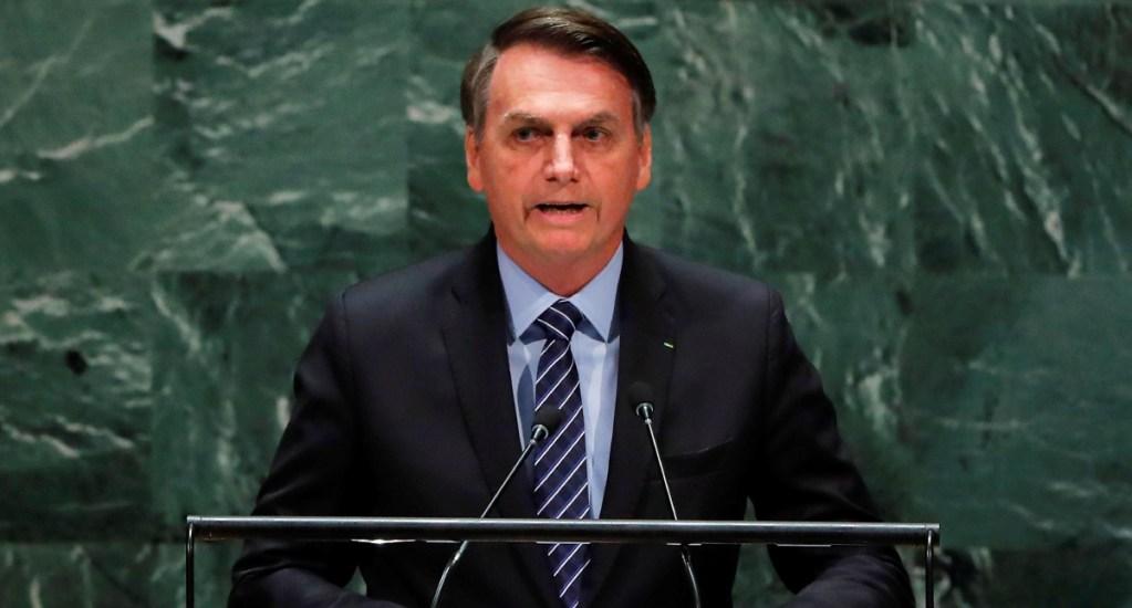 Bolsonaro pide en la ONU respeto a la soberanía de Brasil en la Amazonia - Jair Bolsonaro