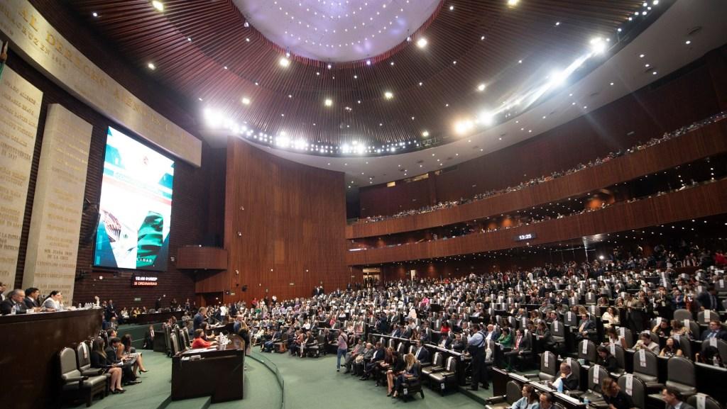 Morena frena iniciativa; PAN presidirá la mesa directiva de la Cámara de Diputados - La Cámara de Diputados en la apertura del Período Ordinario de Sesiones. Foto de Notimex-Alejandro Meléndez.