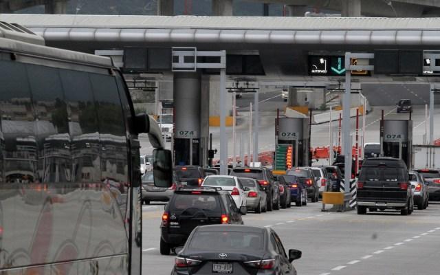 Aumenta regreso de vacacionistas a CDMX tras puente patrio - CDMX Ciudad de México Caseta autopista México-Cuernavaca autos